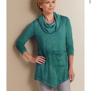 Soft Surroundings Evening Stroll Pullover